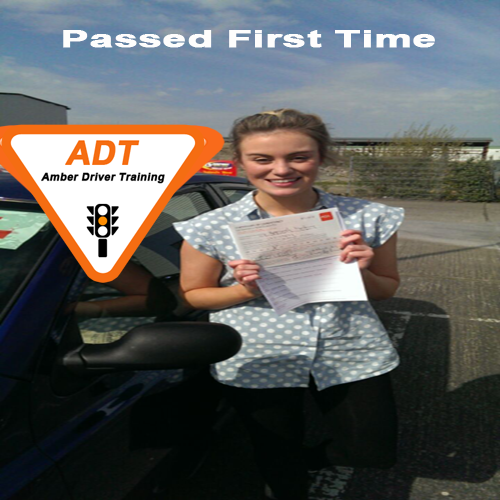 """""""Thanks ADT School of motoring i passed my test the first time with only a couple marks. The test was easy because i got all right information with adt's ..."""